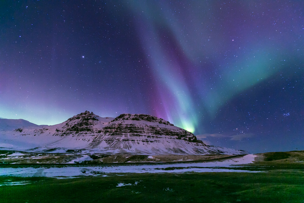 What do the northern lights look like